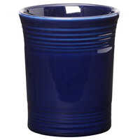 Homer Laughlin 447105 Fiesta Cobalt Blue 6 5/8 inch Utensil Crock - 4/Case