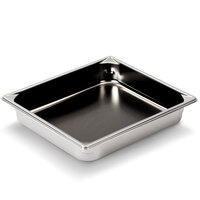 Vollrath Super Pan V 70222 1/2 Size Anti-Jam Stainless Steel Non-Stick Steam Table / Hotel Pan - 2 1/2 inch Deep