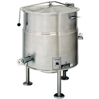 Cleveland KEL-80 80 Gallon Stationary 2/3 Steam Jacketed Electric Kettle - 208/240V