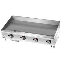 Star 648MF 48 inch Manual Control Gas Countertop Grill - 113,200 BTU