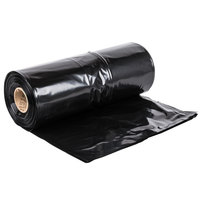 Hercules Contractor Trash Bag 55-60 Gallon 3 Mil 38 inch x 58 inch Low Density Can Liner - 50 / Case