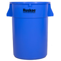 Continental 4444BL 44 Gallon Blue Huskee Trash Can