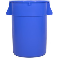 44 Gallon Blue Trash Can