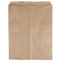 12 inch x 15 inch Brown Merchandise Bag - 1000 / Bundle