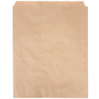 Duro 12 inch x 15 inch Brown Merchandise Bag - 1000/Bundle
