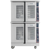 Garland MCO-ED-20-S Double Deck Deep Depth Full Size Electric Convection Oven - 240V, 3 Phase, 20.8 kW