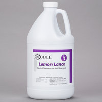1 Gallon Noble Chemical Lemon Lance Disinfectant & Detergent Cleaner - Ecolab® 14522 Alternative