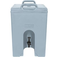Cambro 1000LCD401 Camtainer 11.75 Gallon Slate Blue Insulated Beverage Dispenser