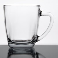 Anchor Hocking 90284 (93254) Rio 14 oz. Square Glass Mug   - 12/Case
