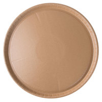 Solut 64045 16 inch Biodegradable Coated Corrugated Kraft Catering / Deli Tray - 50/Case