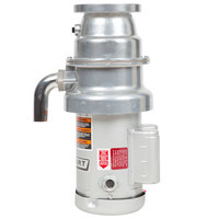 Hobart FD4/75-3 Commercial Garbage Disposer with Short Upper Housing - 3/4 hp, 120/208-240V