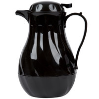 Choice VSW-64K 1.9 Liter Black Thermal Swirl Server