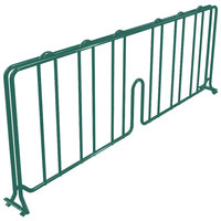 Metro DD14-DHG 14 inch Hunter Green Wire Shelf Divider