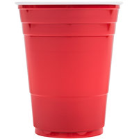 Dart Solo P16R Red 16 oz. Plastic Cup 1000 / Case