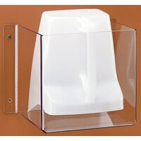 Cal Mil 638 Wall Mount Scoop Guard with 1.7 qt. Utility Scoop