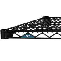 Metro 2472NBL Super Erecta Black Wire Shelf - 24 inch x 72 inch