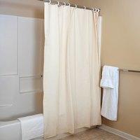 6' x 6' Champagne Vinyl Shower Curtain - 12 / Case