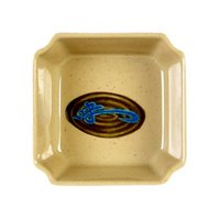 Thunder Group 1002J Wei 3 1/8 inch x 3 1/8 inch Square Melamine Bowl - 12/Pack
