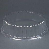 Solut 3016 12 inch Clear Dome Catering / Deli Tray Lid 25/Case