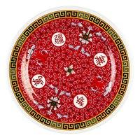 Longevity 12 5/8 inch Round Melamine Plate - 12/Pack
