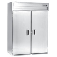 Delfield Stainless Steel SSRRI2-S 74.72 Cu. Ft. Two Section Solid Door Roll In Refrigerator - Specification Line