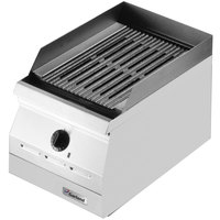 Garland ED-42B Designer Series 42 inch Electric Countertop Charbroiler - 208V, 1 Phase, 8.1 kW