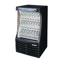 Beverage Air (Bev Air) BZ13-1-B Black Breeze Open Display Case 30 inch - 13 Cu. Ft.