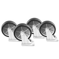 Wells 21034 10 inch Casters - 4/Set