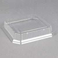Genpak SQ90 10 inch Clear Square Dome Lid - 200/Case