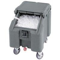 Cambro ICS100L180 Light Gray Sliding Lid Portable Ice Bin - 100 lb. Capacity