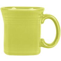 Homer Laughlin 923332 Fiesta Lemongrass 13 oz. Square Mug - 12/Case