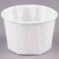 Dart Solo 125-2050 1.25 oz. Paper Souffle / Portion Cup - 5000/Case