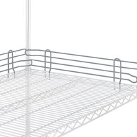 Metro L18N-4-DSH Super Erecta Silver Hammertone Stackable Ledge 18 inch x 4 inch