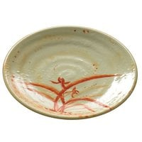 Gold Orchid 7 1/2 inch Round Melamine Plate - 12 / Pack