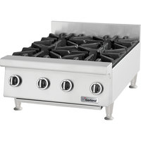 Garland GTOG48-8 Natural Gas 8 Burner 48 inch Countertop Range - 240,000 BTU