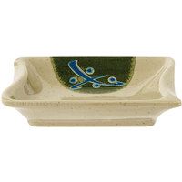 GET 026-TD Japanese Traditional 0.5 oz. Sauce Dish 3 inch x 2 1/2 inch - 24/Case
