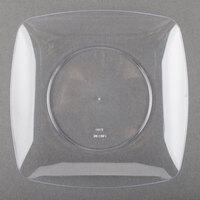 Fineline Renaissance 1506-CL 5 1/2 inch Clear Plastic Dessert Plate - 10 / Pack