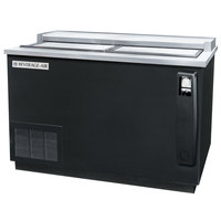 Beverage Air DW49-B Black Bottle Cooler Deep Well - 50 inch