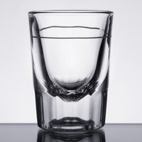 Libbey 5126 2 oz. Fluted Whiskey / Shot Glass - 12 / Pack
