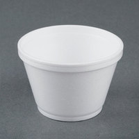 Dart Solo 6SJ12 6 oz. Customizable White Foam Food Bowl - 1000/Case