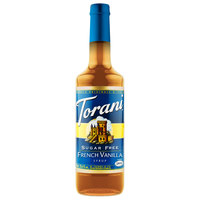 Torani 750 mL Sugar Free French Vanilla Flavoring Syrup