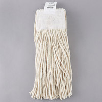 Continental A401016 16 oz. Cut End Natural Cotton Mop Head with 5 inch Band