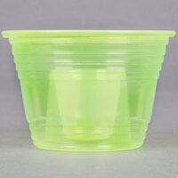Fineline Quenchers 4112-Y Blaster Bomb Shot Cups / Power Bombs Yellow - 500 / Case