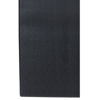 Cactus Mat 1025R-C4P Tredlite 4' Wide Black Pebbled Vinyl Anti-Fatigue Mat - 3/8 inch Thick