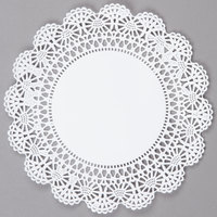 Hoffmaster 500236 8 inch Lace Doily - 1000/Case