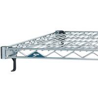 Metro A1472NS Super Adjustable 2 Stainless Steel Wire Shelf - 14 inch x 72 inch