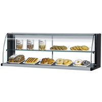 Turbo Air TOMD-75-HB 75 inch Top Dry Display Case for Turbo Air TOM-75SB Slim Line Open Display Case - Black