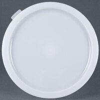 Carlisle 120202 White Lid for 12, 18, 22 Qt. White Round Containers