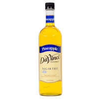 DaVinci Gourmet 750 mL Pineapple Sugar Free Coffee Flavoring / Fruit Syrup