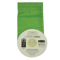 Rubbermaid FG9VBPPB06 Vacuum Bag for 6 Qt. Backpack Vacuums   - 10/Pack